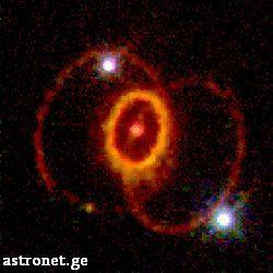 """SN 1987A-ის """"სიცოცხლის"""" ბოლო ეტაპი"""