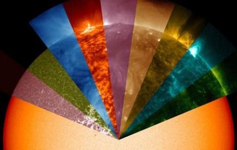მზის ზედაპირი, ბირთვზე ნელა ბრუნავს