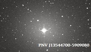ახალი ვარსკვლავი კენტავრის თანავარსკვლავედში