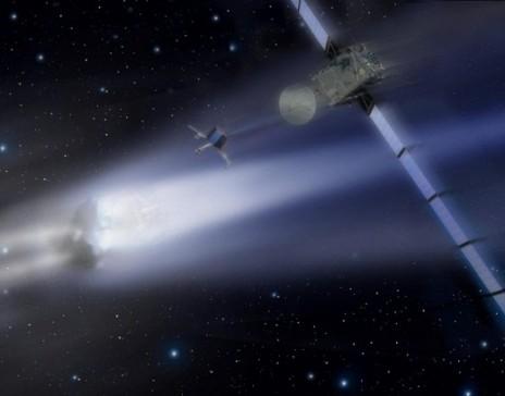 კომეტამ პერიჰელიუმი გაიარა და აყროლდა