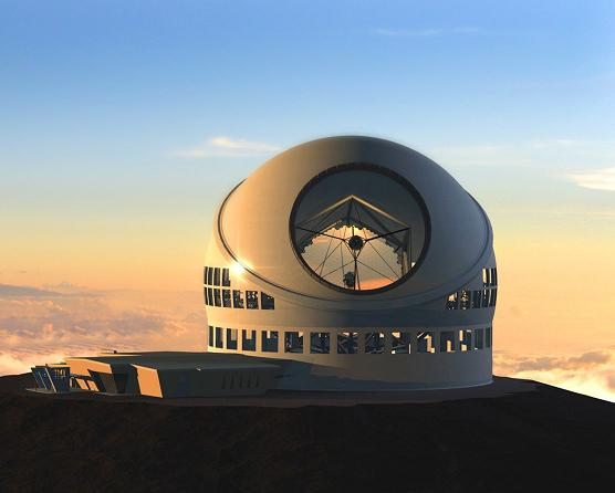 TMT – განხეთქილების ტელესკოპი