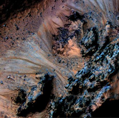 NASA – მარსზე, მარილიანი წყალი ახლაც მოედინება