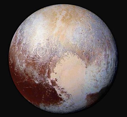 """პლუტონის """"გული"""" – ასტეროიდის ვარდნის შედეგი"""