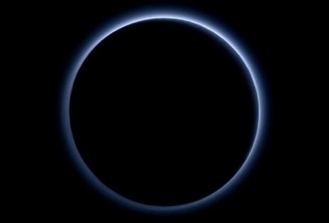 პლუტონის ცისფერი ცა