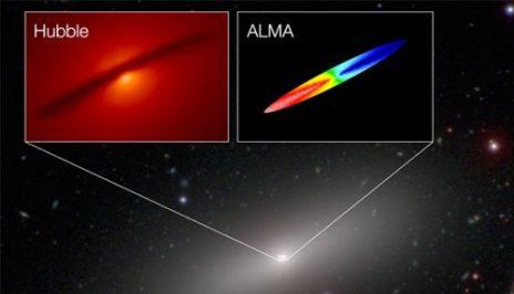 შავი ხვრელის ზუსტი წონა