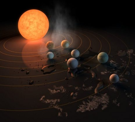 """""""პლანეტათა საწყობი"""": NASA-ს საგანგებო პრესკონფერენცია"""