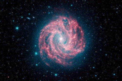 უხილავი ანთებები შორეულ გალაქტიკაში