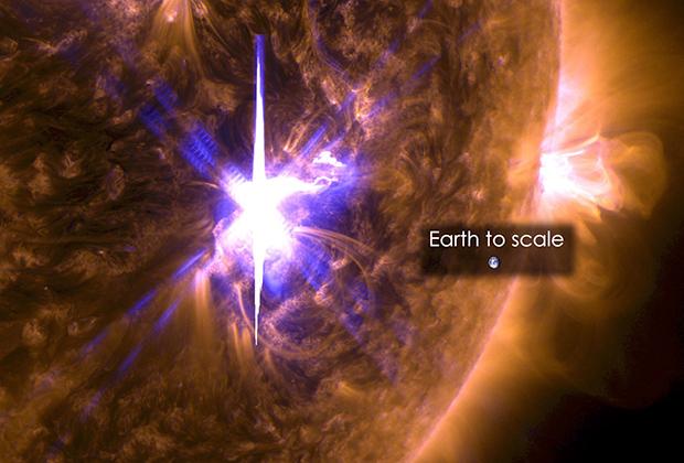 ბოლო 12 წლის განმავლობაში 3 უძლიერესი ანთება მზეზე