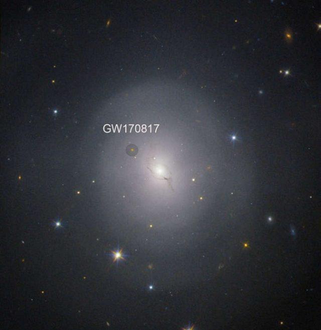 გალაქტიკა NGC 4993: ისტორიული აფეთქების სახლი